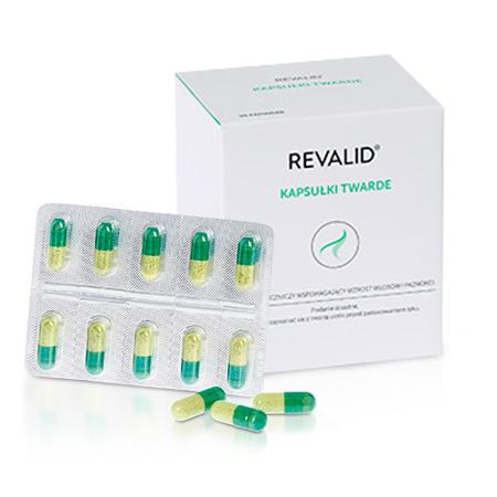 Revalid - Wzmacnia włosy, 90 kapsułek.