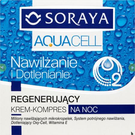 Soraya - Aquacell - KREM regenerujący na NOC, 50 ml.