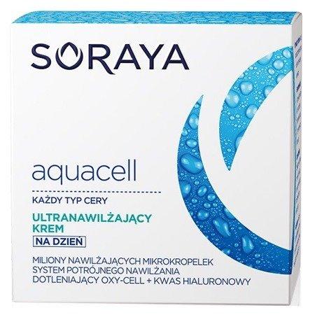 Soraya - Aquacell - KREM ultranawilżający na DZIEŃ, 50 ml.