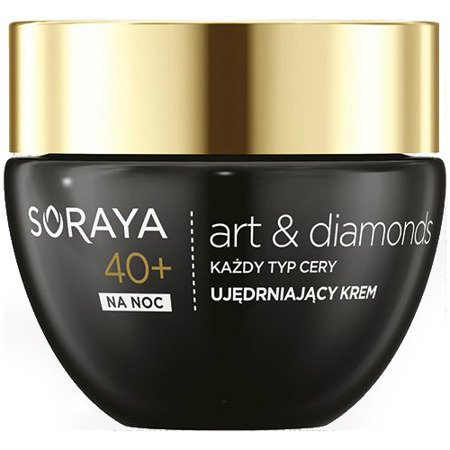 Soraya - Art&Diamonds 40+ - KREM liftingujący na NOC, 50 ml.