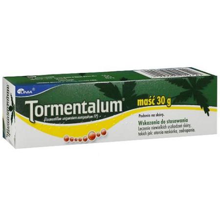 Tormentalum - MAŚĆ na rany, 30 g.