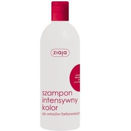 Ziaja - Intensywna pielęgnacja włosów - SZAMPON z olejem rycynowym, 400 ml.