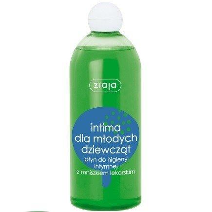 Ziaja - Intima - PŁYN do higieny intymnej z MNISZKIEM, 500 ml.