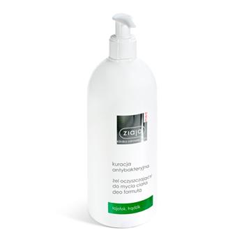 Ziaja MED - Kuracja Antybakteryjna - ŻEL oczyszczający do mycia ciała, 400 ml.