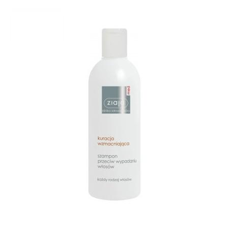 Ziaja MED - Szampony - SZAMPON przeciw wypadaniu włosów, Kuracja wzmacniająca, 300 ml.
