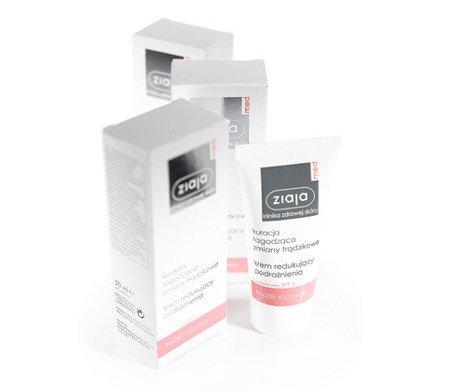 Ziaja MED - Trądzik różowaty - KREM redukujący podrażnienia, 50 ml.