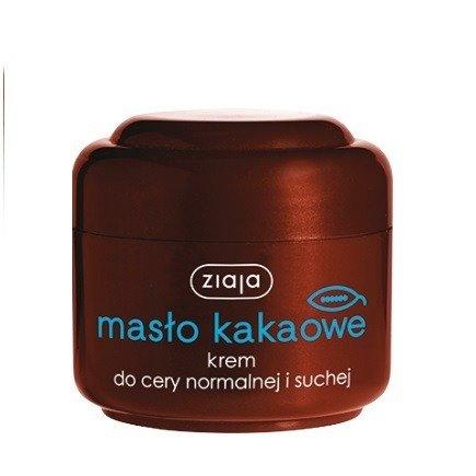 Ziaja - Masło Kakaowe - KREM poprawiający koloryt skóry, 50 ml.