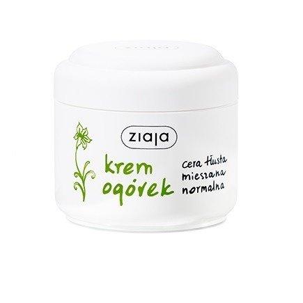 Ziaja - Ogórkowa - KREM do cery tłustej, mieszanej i normalnej, 100 ml.