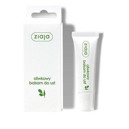 Ziaja - Oliwkowa - BALSAM do ust, odżywia, nawilża i zapobiega pękaniu ust, 10 ml.