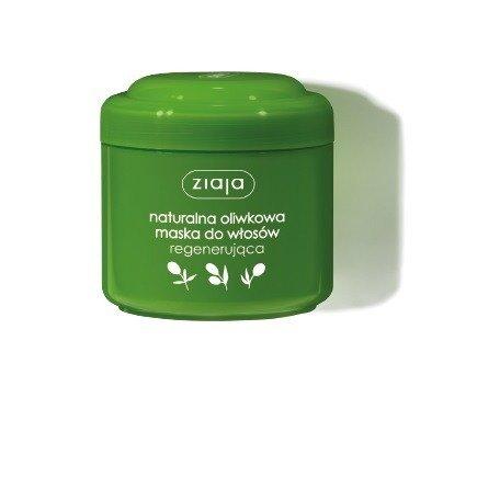 Ziaja - Oliwkowa - MASKA regenerująca do włosów suchych i łamliwych po zabiegach fryzjerskich, 200 ml.