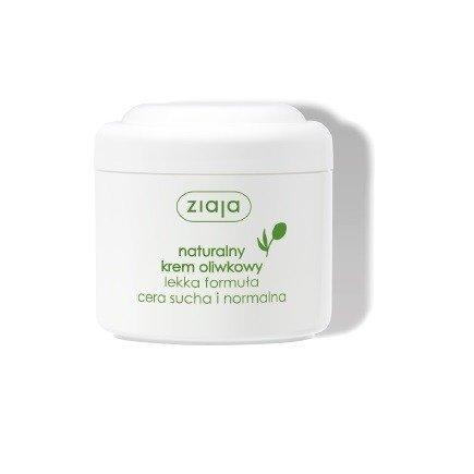 Ziaja - Oliwkowa - Naturalny KREM oliwkowy, lekka formuła do cery suchej i normalnej polecany dzieciom i dorosłym, 200 ml.