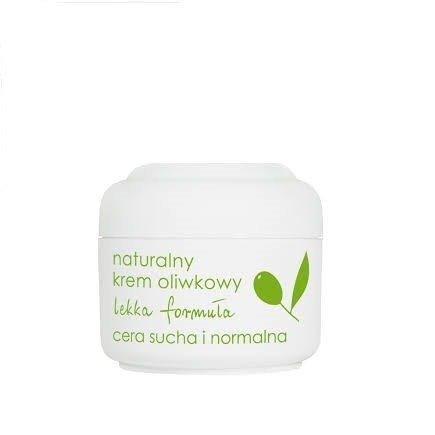 Ziaja - Oliwkowa - Naturalny KREM oliwkowy, lekka formuła do cery suchej i normalnej polecany dzieciom i dorosłym, 50 ml.