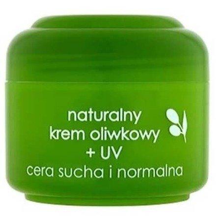 Ziaja - Oliwkowa - Naturalny KREM oliwkowy z filtrami UV, do cery suchej i normalnej, 50 ml.