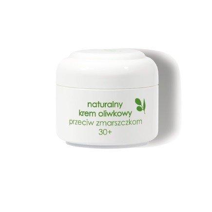 Ziaja - Oliwkowa - Naturalny KREM przeciwzmarszczkowy dla osób po 30 roku życia, 50 ml.