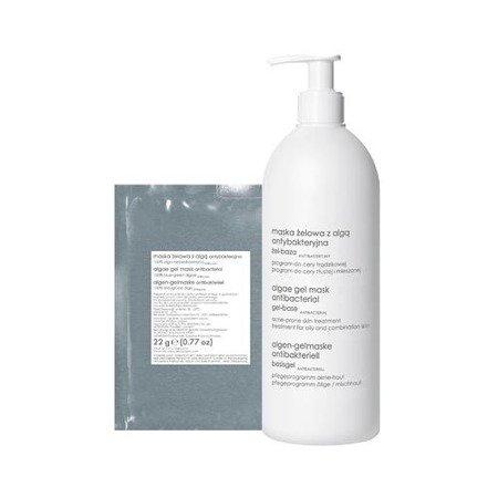 Ziaja - PRO – MASKA antybakteryjna żelowa z Algą , 500 ml.+ 22 g.