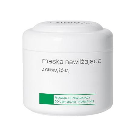 Ziaja Pro – MASKA nawilżająca z glinką żółtą, 200 ml.