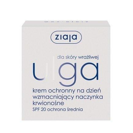 Ziaja - Ulga - KREM ochronny na DZIEŃ, 50 ml.