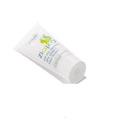Ziaja - Ziajka - ŻEL bez fluoru do zębów dla dzieci od 1 ząbka, 50 ml.